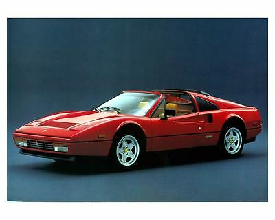 1985 1986 Ferrari 328 GTS Photo Poster zc8666