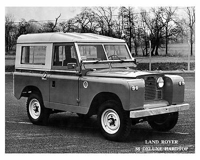 1968 Land Rover 88 Photo Poster zc8711