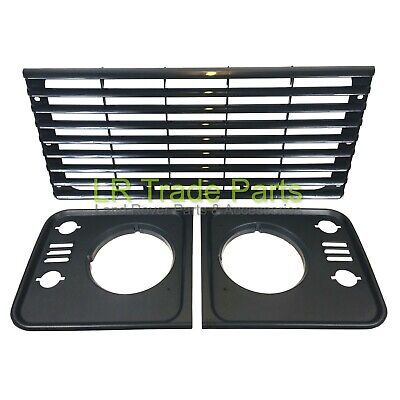 Land Rover Defender Radiator Grille & Headlamp Surrounds Td5 Style Upgrade Kit