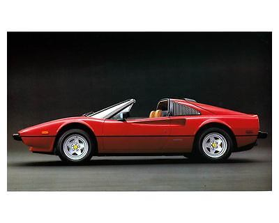 1983 Ferrari 308 Quattrovalvole Automobile Photo Poster zc8828