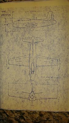 North American Model Xfj-1 Airplane Detail Specification