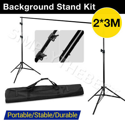 2x 2.1M Pro Photo Photography Studio Light Stand Tripod for Video Lighting Kit