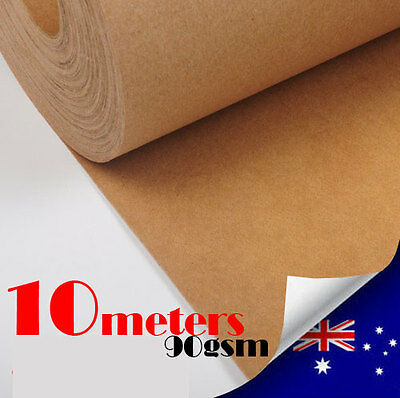 90GSM Packaging Kraft Paper Roll 750mmx10m Packing Wrapping Craft