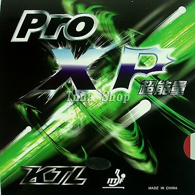 KTL Pro-XP Pips-In Table Tennis / Ping Pong Rubber with Sponge