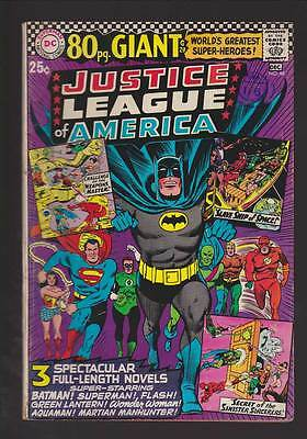 Justice League of America # 48  80 page Giant  grade 5.5 scarce hot book !!