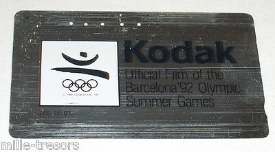 TELECARTE Japon : KODAK JO Barcelona 92 Olympic Summer Games  - PHONE CARD