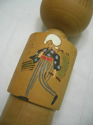 Kokeshi Creative Style Wooden Japanese Doll Vintage #296