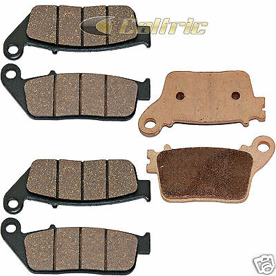 FRONT & REAR BRAKE PADS Fits Honda CBR600F Non ABS 2011 2012 2013