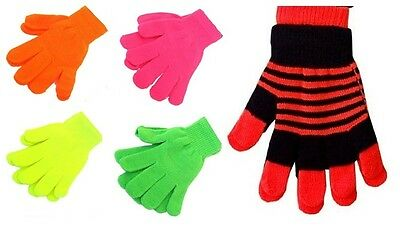 Kids Boys Girls Gloves Back To School Winter Warm Magic Gloves Cold Protection