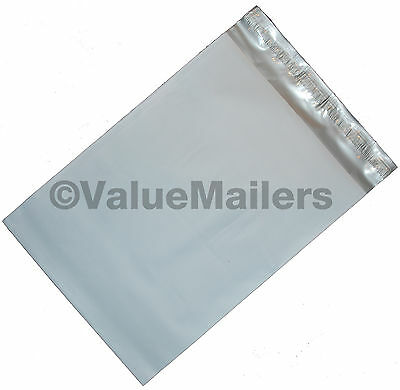 100 Poly Mailers Envelopes 9x12 Self Seal Plastic Bags Matte Finish 2.7 Mil