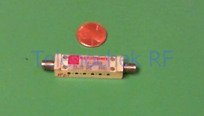 RF IF microwave bandpass filter 23.27 GHz, 312 MHz BW, data
