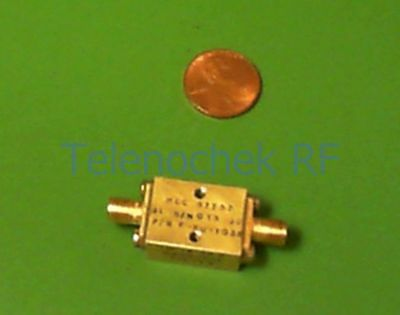RF IF microwave low pass LPF filter 19.7 GHz 1dB,  24.6 GHz 20dB reject data