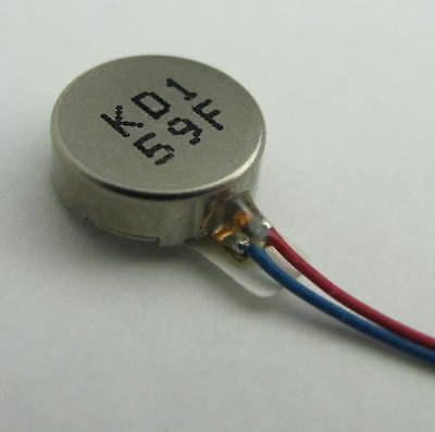 Qty 2  SMALLEST in World   2 mm  x  7 mm  Coin Vibration Vibrator Motor 3 V