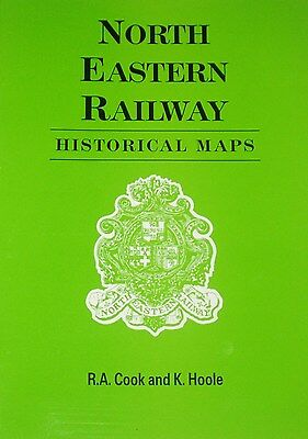 NER RAILWAY MAPS North Eastern Steam Train Rail History Lines Routes Stations