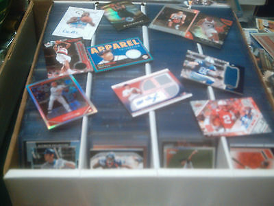 HUGE SPORTS CARD COLLECTION ROOKIE JERSEY AUTO INSERT ULTIMATE LOT LUCK JORDAN