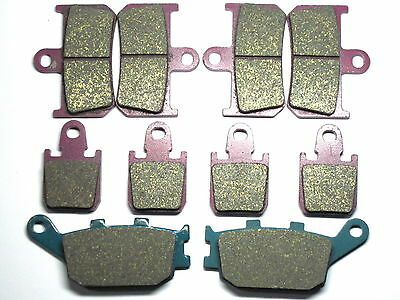 Front Rear Brake Pads For Yamaha YZF R1 2007 2008 2009 2010 2011 2012 2013 2014