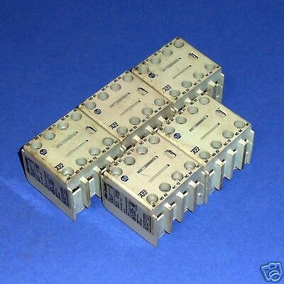 Allen Bradley 10A Auxiliary Contact Block 100-Fa22 Ser. B *lot Of 5*