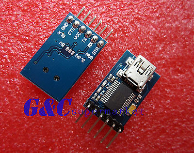 FT232RL USB to Serial adapter module USB TO 232 Arduino download cable NEW  M1