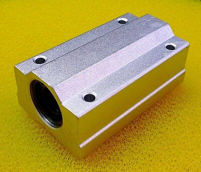4PCS SCS16LUU (16mm) Metal Linear Ball Bearing Pellow Block Unit FOR CNC SC16LUU