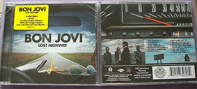 "Bon Jovi COLLECTORS SET ""Lost Highway"" 2007: MAGNET + GUITAR PICK + CD * RARE *"