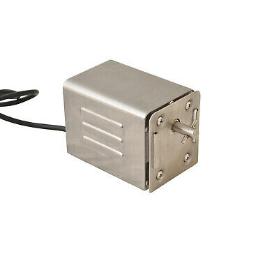 New A40 Stainless Steel Rotisserie BBQ Spit 240V Motor with Pin-30kgs Capacity -
