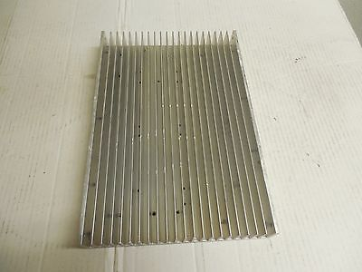 "NO NAME ALUMINUM HEAT SINK 12-5/8""x 8-11/16""x 1-1/2"""