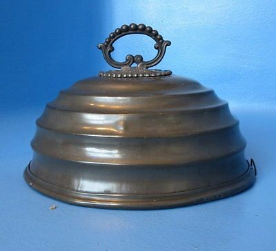 Antique Pewter Serving Dish Cover Henry Hodson & Son Beautiful Decor English