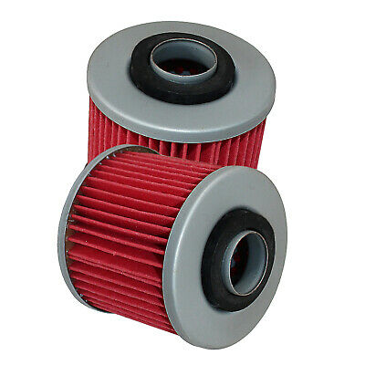 Oil Filter Fits Yamaha Xc180 Riva 180 1983 1984 1985 2-Pack