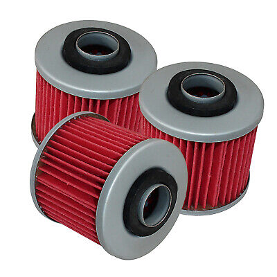 Fits Yamaha Xc180 Riva 180 1983 1984 1985 Oil Filter 3-Pack