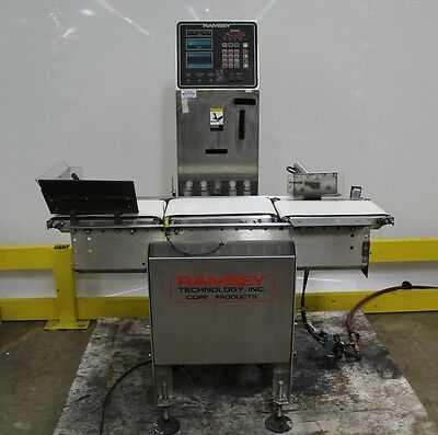 Ramsey Icore Autocheck 8000 In-Motion Conveyor Checkweigher 120V 120 V Volt 1Ph