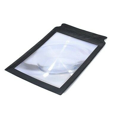 3X Big A4 Full Page Magnifier Sheet LARGE Magnifying Glass Reading Aid Lens new