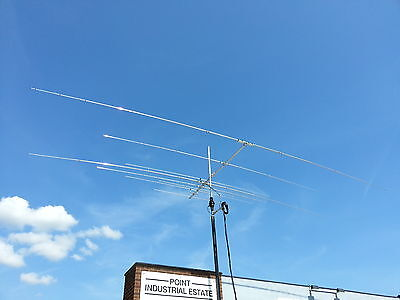 HF Multi-band Yagi 6 band 20/17/15/12/10/6 only 12' long! 3.6m
