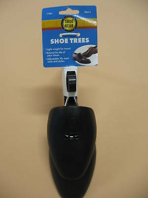 Shoe Trees -  Mens Adjustible Plastic