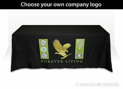 Custom Promotional Exhibition Tablecloth, Printed with your company logo
