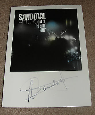 AUTOGRAPHED - Arturo Sandoval Live at the Blue Note