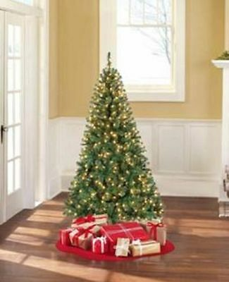 Madison Pine 6.5 ft 6 1/2 Pre Lit Christmas Tree 400 clear Lights NEW