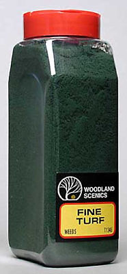 NEW Woodland Scenics Turf Fine Weeds 32 oz T1346