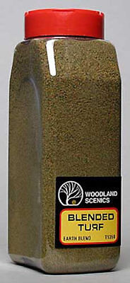 NEW Woodland Scenics Turf Fine Blended Earth 32 oz T1350
