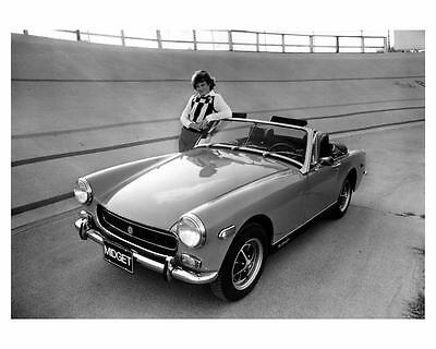 1974 MG Midget Factory Photo ca0237