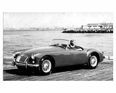 1956 1957 MG MGA Factory Photo ca0255