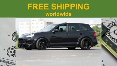 PORSCHE CAYENNE ADJUSTABLE Lowering Kit Links Air Suspension Made in