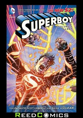SUPERBOY VOLUME 3 LOST GRAPHIC NOVEL Collects (2011) #13-19, and Annual #1