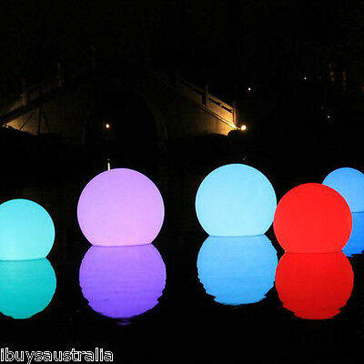 Innovia Floating Mood Light 35cm LED Ball for Pool Spa Pond + Remote