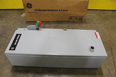 Ge Cr307C102Yaa Size1 Motor Starter Combo Enclosure W/ 30A 30 A Amp Breaker Only