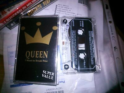 Mc Musicassetta Tape Mk7 Queen I Want To Break Free 1993 On Stage Italy
