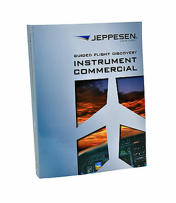 NEW Jeppesen GFD Instrument Commercial Textbook | 10001784-005 July 2016 Rev