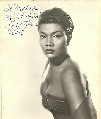 Pearl Bailey A Maurice Chevalier