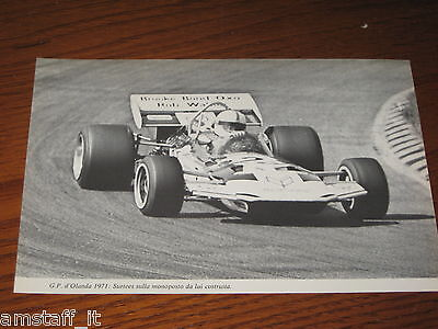 (59)*=G.p. F.1 Olanda 1971 Surtees=Clipping=Foto=