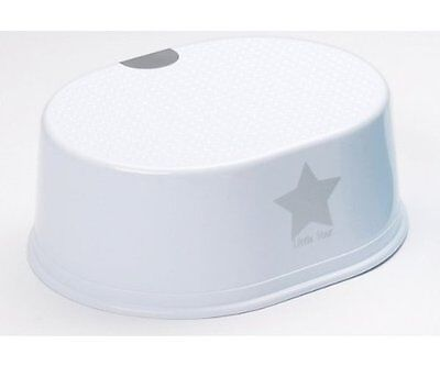 Strata Toddler Toilet Training Non Slip Step Stool - Silver Lining