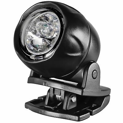 Powerbuilt LED Clip-on Visor Light with Built-in Magnetic Base - 641574